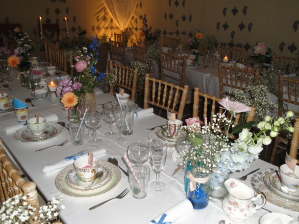 Vintage Table Layout